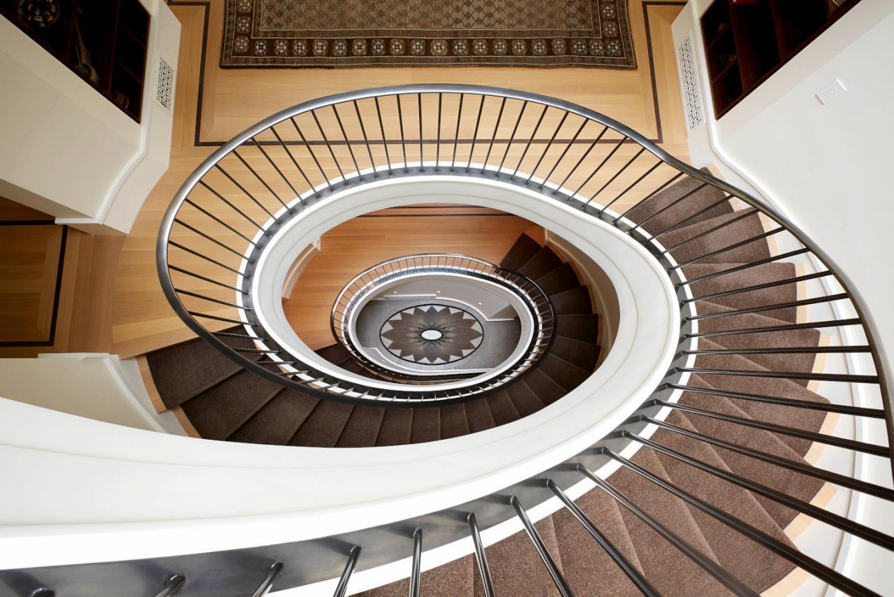Elliptical Stairway